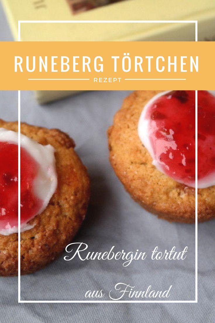 Runebergin tortut - Runebergin Törtchen aus Finnland, ist das Lieblingsgebäck des gleichnamigen Schriftstellers. EInfach und lecker!