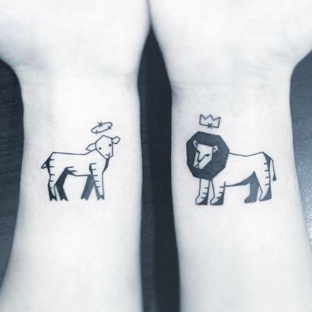 Jesus é o Cordeiro e o Leão.