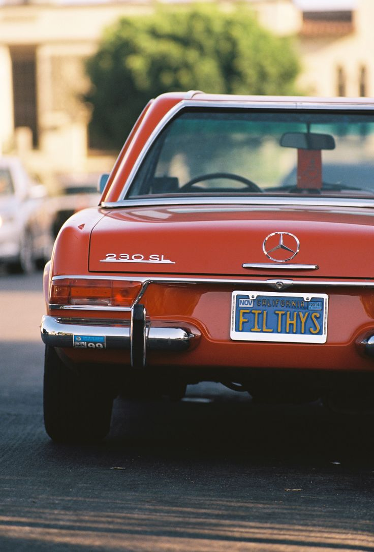 "apex35mm:  Mercedes 230 SL ""Filthys"" // 35mm Lomo Film // Los Angeles 2014"