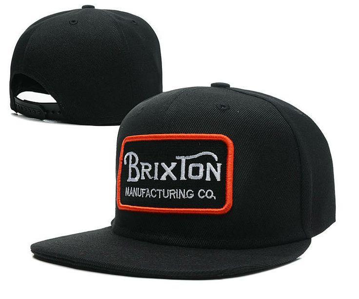 Кепка Snapback Brixton с прямым козырьком