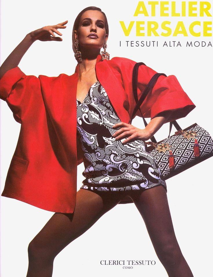 Karen Mulder | Gianni Versace HC s/s 1991