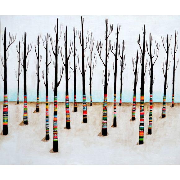 Lisa Congdon Art + Illustration » folk forest