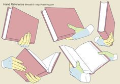 手のイラスト資料集 -Hand Reference | Hato King