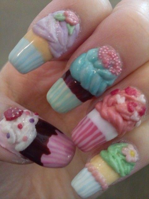 cupcake - Best 25+ Cupcake Nail Art Ideas On Pinterest Easter Nails, Pink