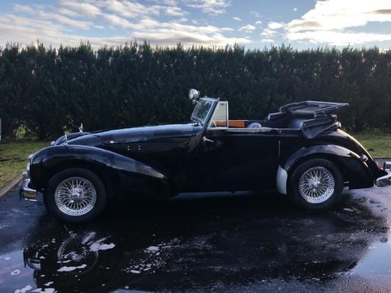 Allard 81 m 1949 cabriolet 4 places sous capote moteur v8 3 7 l auto - Meilleurs cabriolets 4 places ...