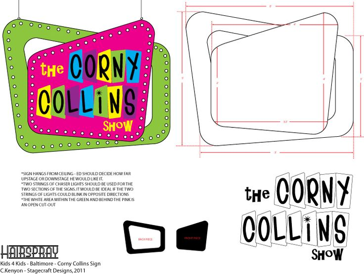 Hairspray- Corny Collins Show by ckenyon1964