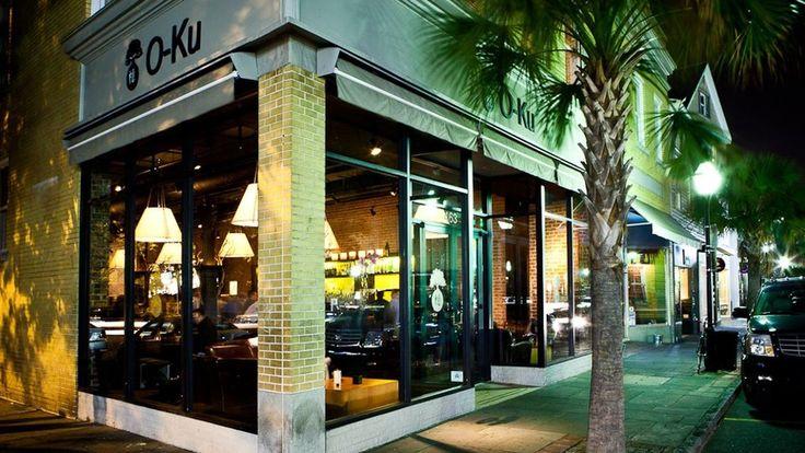 O-ku sushi (originally from Charleston) on the westside. Sushi happy hour on Mon & Weds from 5-7
