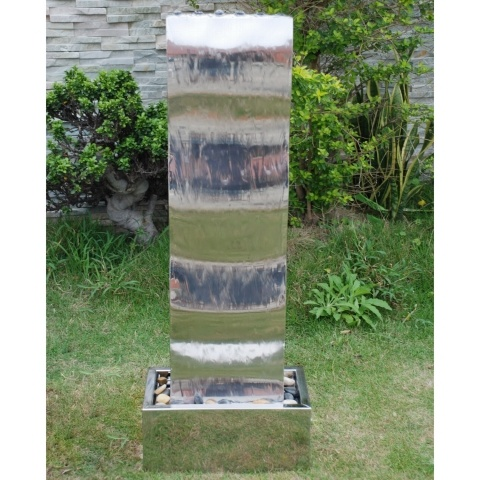 Westbury Large Wave Cascade Stainless Steel Water Feature £199