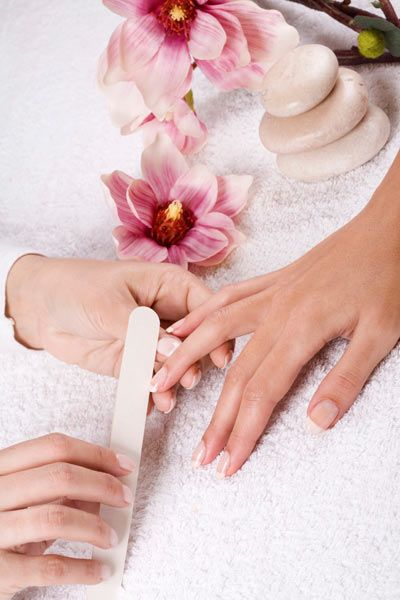 We would really love a manicure at the spa today, a pretty polish is a must have accessory for the upcoming party season!
