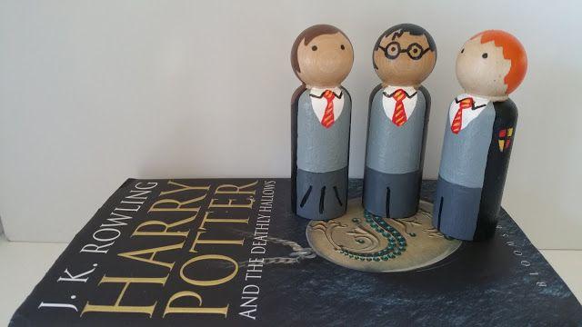 Harry Potter Wooden Peg Dolls