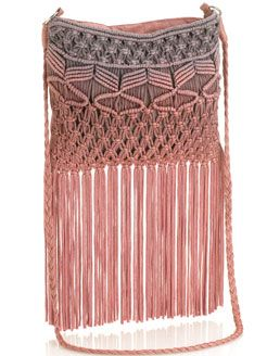 OMBRE MACRAME CROSS BODY BAG