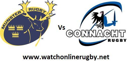 Watch Munster Vs Connacht Live    Event: Guinness PRO14  Match: Connacht vs Munster  Date: 7:45pm Saturday 6th January  Venue: Thomond Park, Limerick