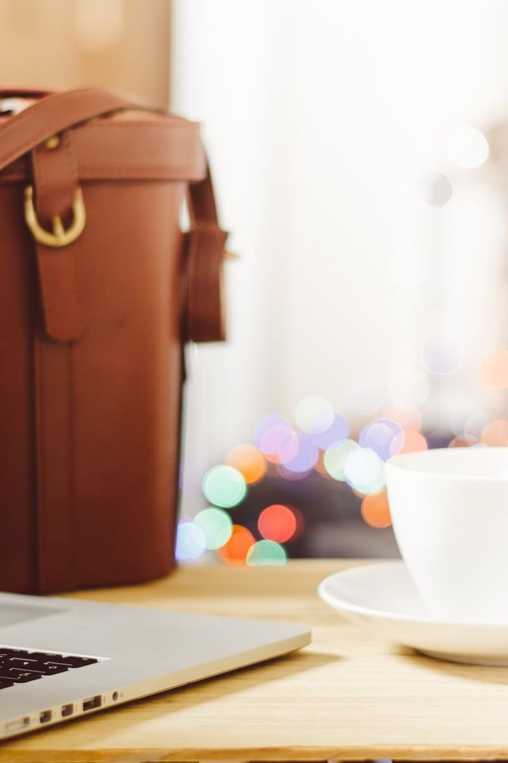 Free stock photo of coffee, apple, desk, laptop