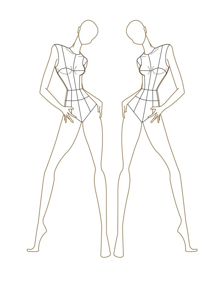 17 best A-mannequin drawing for fashion design images on ...