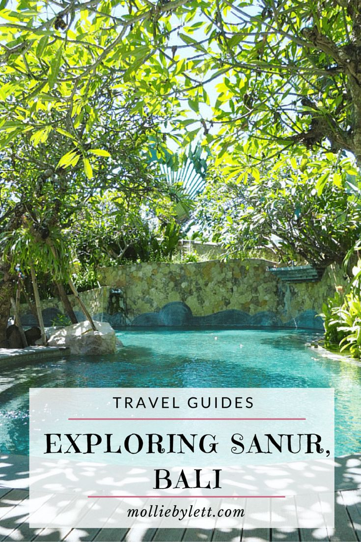 Mollie Bylett | A Travel and Lifestyle Blog: Arriving to The Sudamala Resort and exploring Sanur, Bali