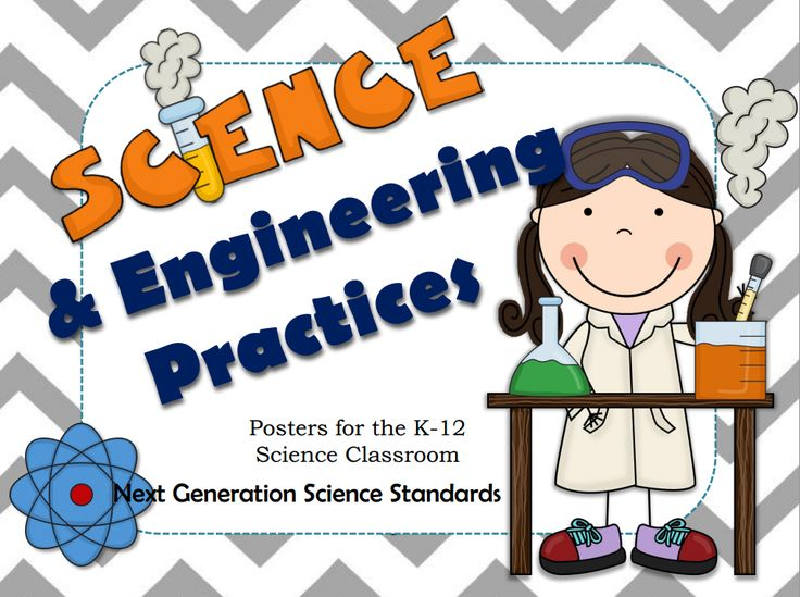 Next Generation Science Standards (NGSS) Science and Engineering Practices posters