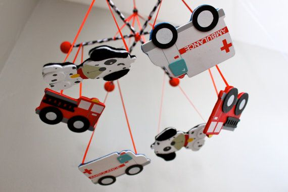 Unique Nursery Mobile  Best Baby Crib Mobile  by BabyBrightEyes, $57.00
