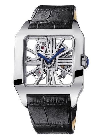 Cartier Santos-Dumont Skeleton Watch (men's)