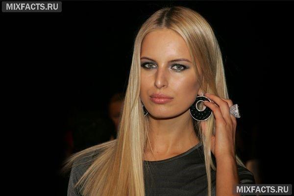 цвет волос Каролины Курковой
