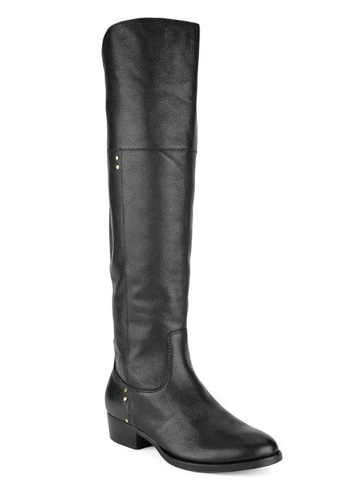 DV by Dolce Vita Jemi -On Sale. Nail this season's top trend in footwear  with this Equestrian inspired over the knee riding boot from Dolce Vita.