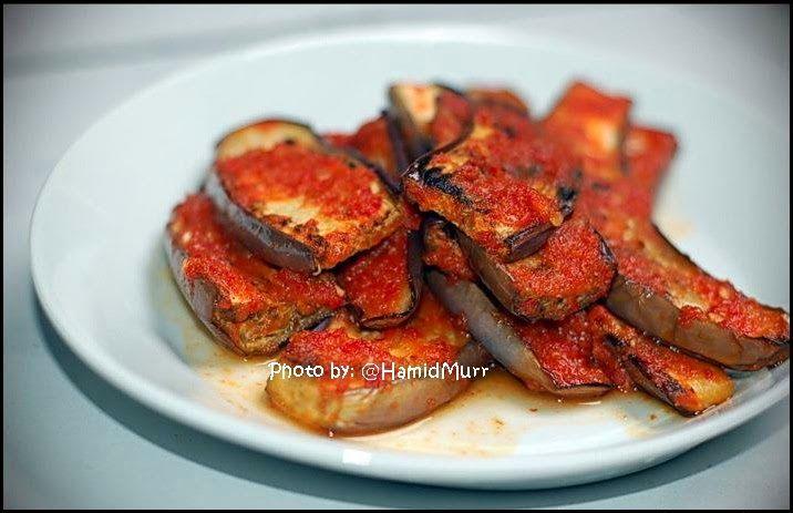 Kehidupan Cahaya Hidup: Terong Bakar Balado (Spicy Eggplant)