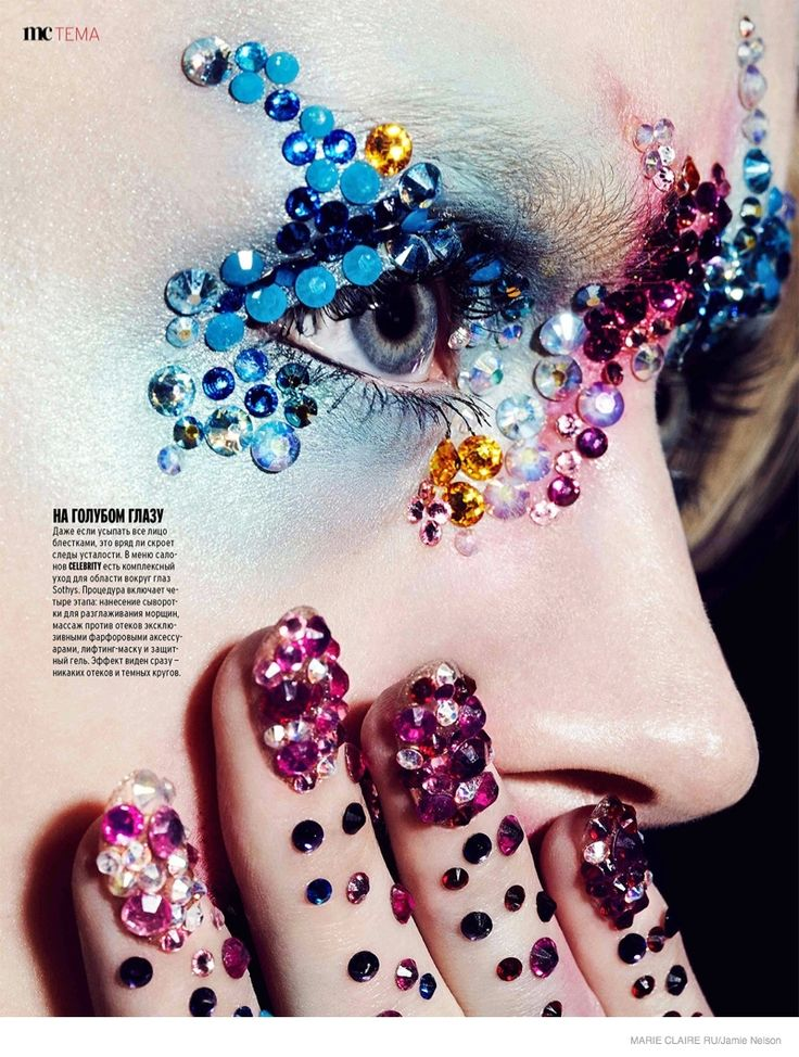 7 Jewelry Beauty Looks in Marie Claire Russia Shoot by Jamie Nelson