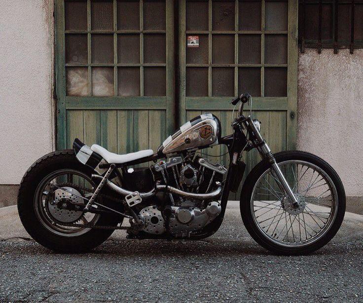 Ironhead Sportster Strutted Custom With Bobbed Black White - Vinyl stripes for motorcyclespopular motorcycle tank stripesbuy cheap motorcycle tank stripes