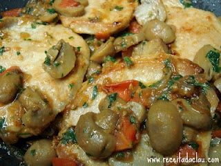 Claudia's Recipe: Pork Loin Chop with Mushrooms