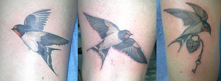 Swallows Tattooist: Daniel Brandt Electric Expressions Tattoo Studio Margate, QLD, Australia PH: (07) 38895966