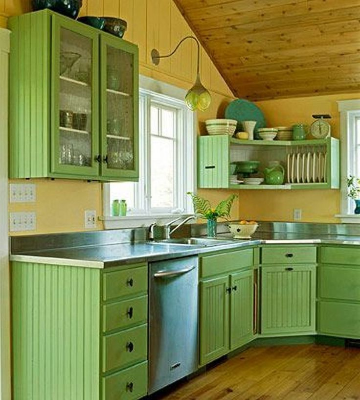 25 beautiful kitchen color ideas that will refresh your eyes with images country kitchen on kitchen ideas colorful id=68053