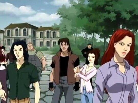 Avalanche e Lince Negra (último episódio de X-Men Evolution)