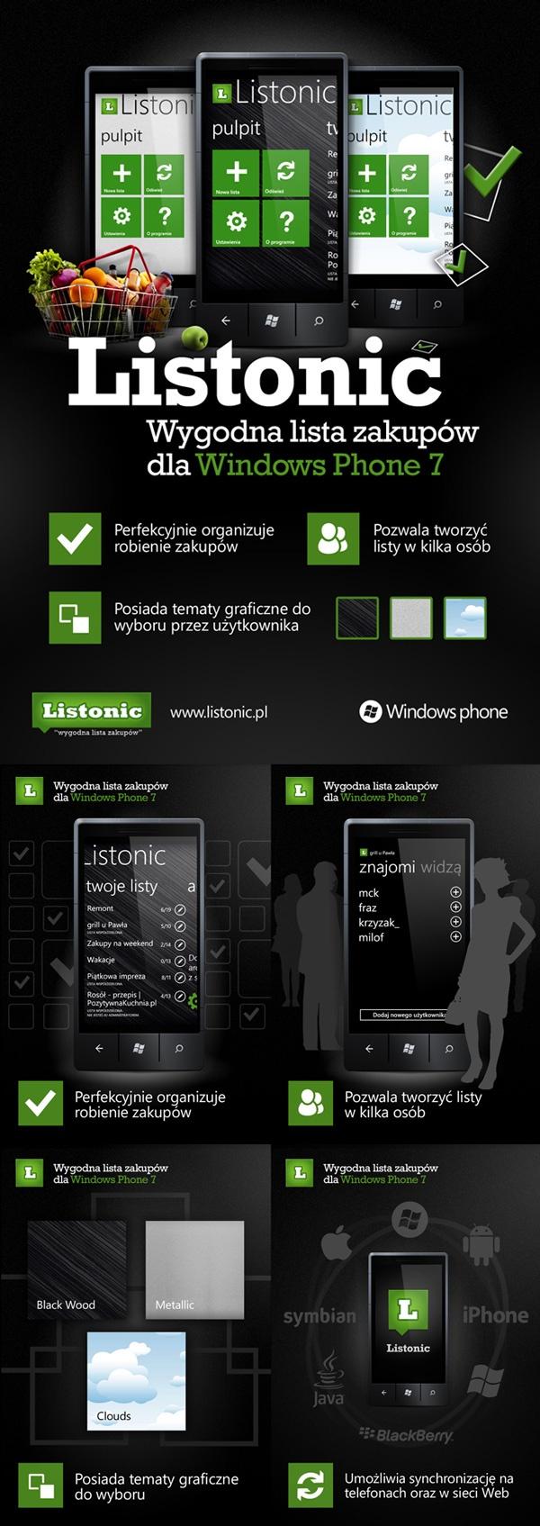 Listonic for Windows Phone