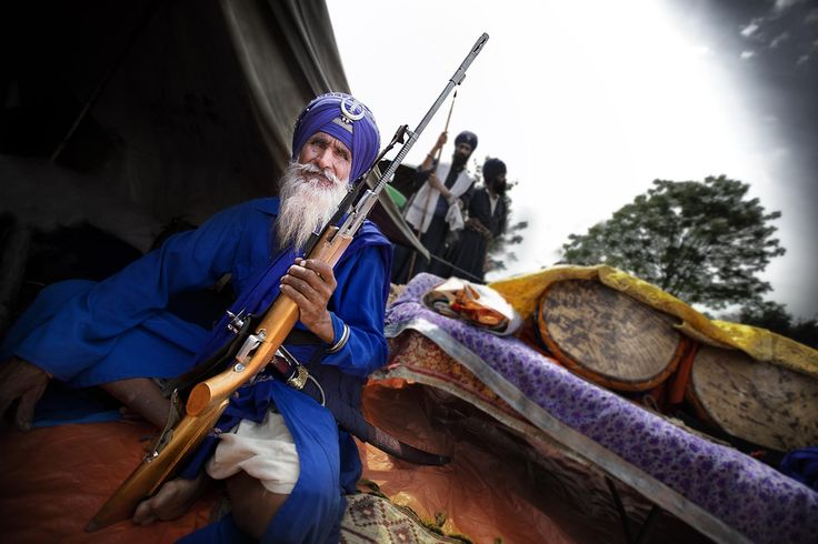 The Ruthless Nihang Sikhs • Lazer Horse
