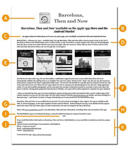 Ecrivez un communiqué de presse efficace pour votre app
