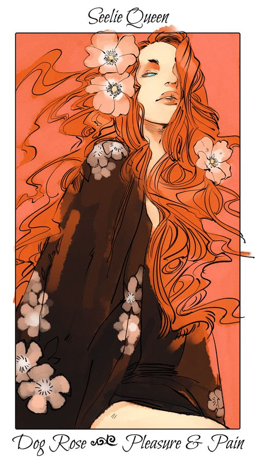 Shadowhunter Flower Series, Seelie Queen.