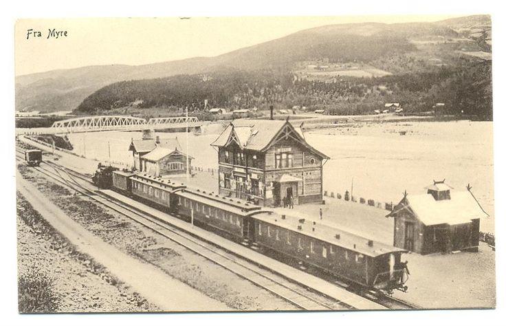 Fåvang stasjon - tidl. Myre st. Ringebu - Gudbrandsdalen - Dovrebanen