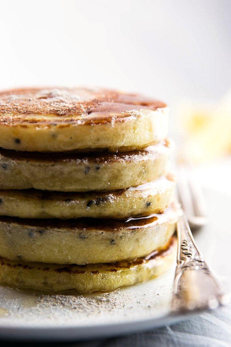 Lemon Black Sesame Pancakes FoodBlogs.com