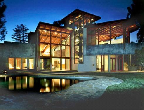 This gorgeous 7,500 square foot home absolutely defies the idea that sustainable design sacrifices a buildings aesthetic.