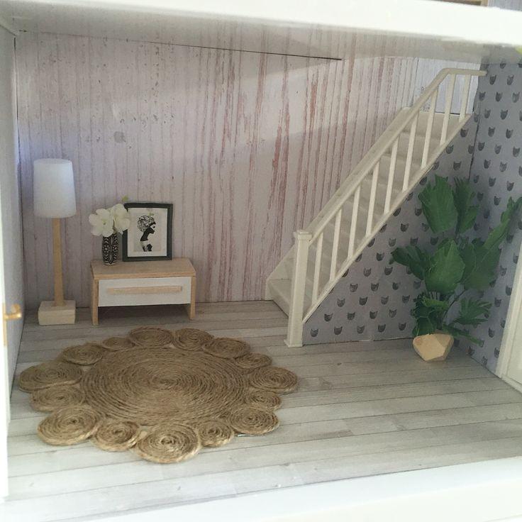Lundby dollhouse renovation  modern Miniatures  doll house furniture. 89 best Doll house renovation DIY images on Pinterest   Dollhouses