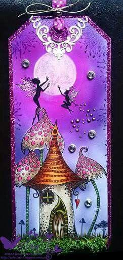 By Manesha Patel using  Lavinia stamps...