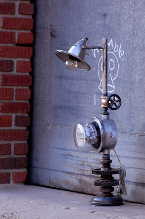 Electric Meter Lamp I Made My Lamps Pinterest Lighting Pipe And