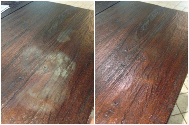 Clearly Candace: Blown Away...Literally!: Remove wood stains with a blow dryer! #heatstains #waterstains