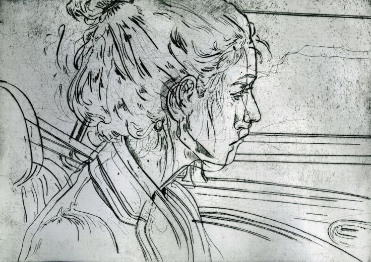 Drypoint Printmaking - Angie Hoffmeister, artist and ...