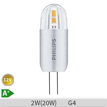 Bec LED Philips capsula CorePro capsuleLV 2-20W 830 G4, 871869641916800 http://www.etbm.ro/becuri-led
