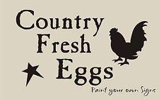 Free Primitive Star Stencil | STENCIL Country Fresh Eggs Star Primitive Rooster Chicken Farm Market ...