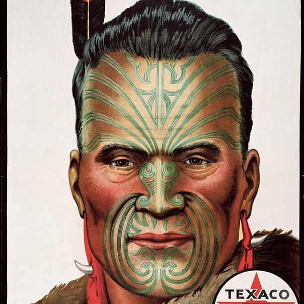 Kingi Tawhiao in an old commercial