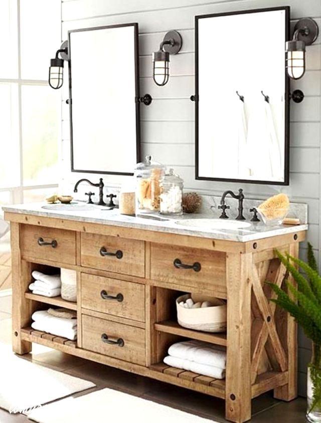 Lowes Country Style Vanity Decor And Decorating Ideas Bathroom In 2020 Bathroom Vanity Rustic Bathroom Vanities Simple Bathroom Decor