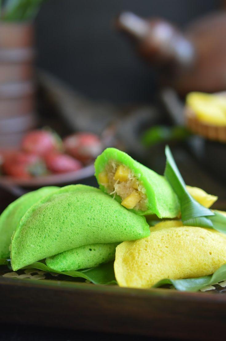 Diah Didi's Kitchen: Karipap Apam Isi Unti Kelapa Nangka