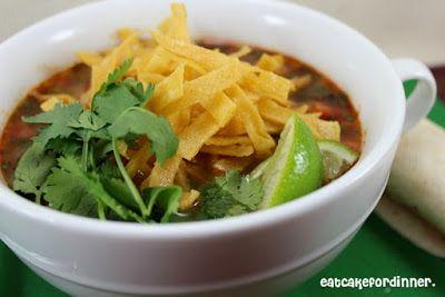 Eat Cake For Dinner: Copycat Cafe Rio Tortilla Soup