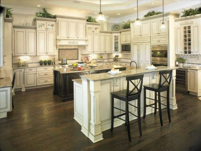 toll brothers kitchen | Toll Brothers' Northeast Florida Design Center features a full-sized ...
